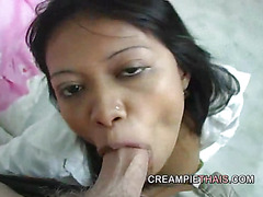 Hot Thai girl loves it in the pussy and ass