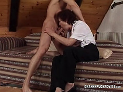 Granny Has Firm Fun Bags Sucked