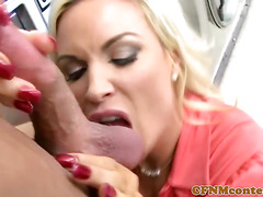 Cocksucking cfnm milfs from britain